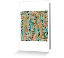 Colorful Abstract Artistic background Greeting Card