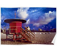Jetson's Lifeguard Stand Poster
