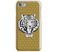 Yuri's Tiger: B&W Honeycomb iPhone Case/Skin