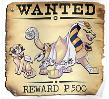 Sphinx Concept - Most Wanted Poster Poster