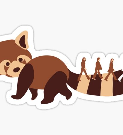 Beatles on tail Sticker