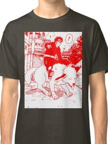 Red manga kiba akamaru Classic T-Shirt