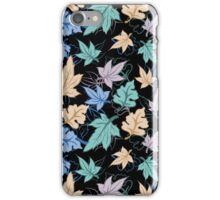 fun fall pattern iPhone Case/Skin