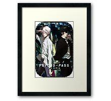 Psycho Pass Enemies Framed Print