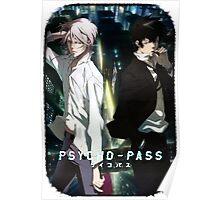 Psycho Pass Enemies Poster