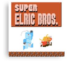 Super Elric Bros. Canvas Print
