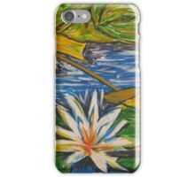 Lonely Lotus iPhone Case/Skin