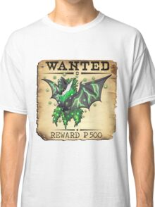 Dark/Poison Bat Most Wanted Poster Classic T-Shirt