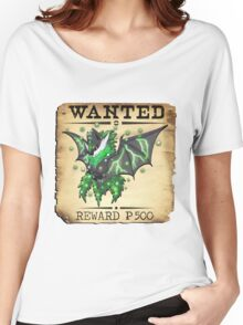 Dark/Poison Bat Most Wanted Poster Women's Relaxed Fit T-Shirt