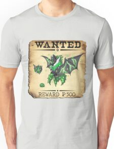 Dark/Poison Bat Family - Most Wanted Poster Unisex T-Shirt