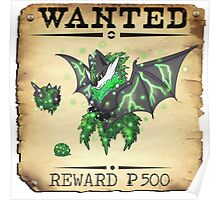 Dark/Poison Bat Family - Most Wanted Poster Poster
