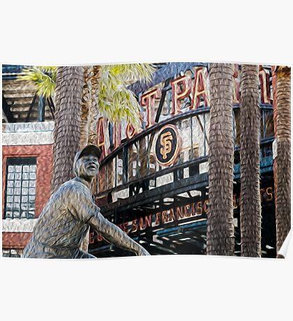 San Francisco Giants Main Gate Poster