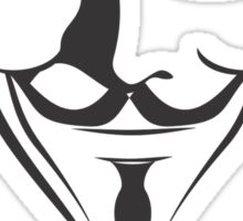 'Remember, remember' Guy Fawkes Sticker