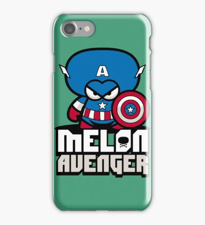 funny melon iPhone Case/Skin