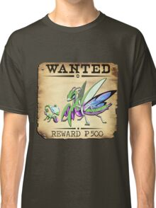 Psychic Mantis Family - Most Wanted Poster Classic T-Shirt