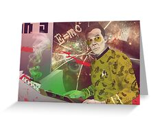 Fear & Loathing in Outer Space Greeting Card