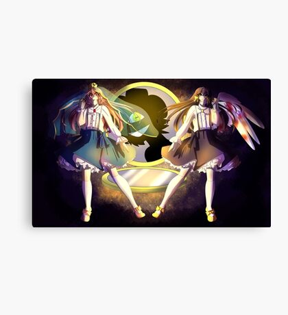 Goldia And Enjel Canvas Print