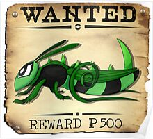 Bug/Dark Grasshopper - Most Wanted Poster Poster