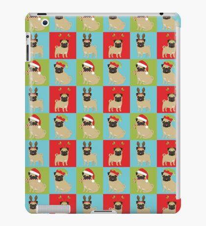 Christmas Pugs  iPad Case/Skin