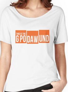 GPODAWUND #GPODAWUND - Football Funny Women's Relaxed Fit T-Shirt