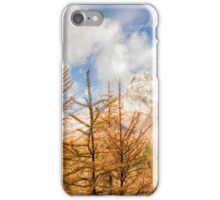 Mountains and Larches iPhone Case/Skin