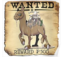 Mountain Camel - Most Wanted Pokemon Poster