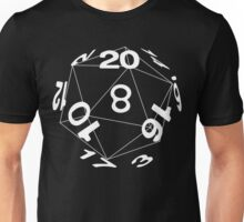 Tabletop role playing games magic dice art Unisex T-Shirt