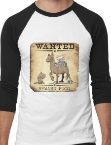 Mountain Camel - Most Wanted Pokemon Men's Baseball ¾ T-Shirt