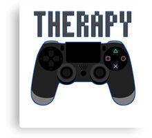 Video Game therapy Canvas Print