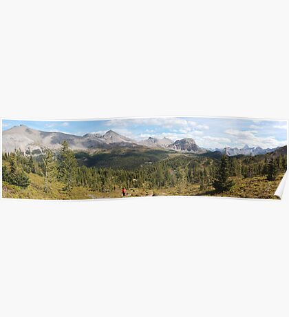 Panoramic landscape Poster