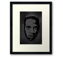 The gRey Series - J Framed Print