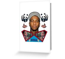lil b super man sega bullshit Greeting Card