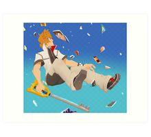 Roxas- Reflection Art Print