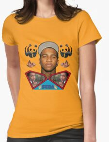 lil b super man sega bullshit Womens Fitted T-Shirt