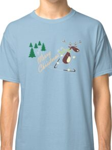 Christmas Reindeer for darks  Classic T-Shirt