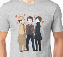 Triple Sherlocks Unisex T-Shirt