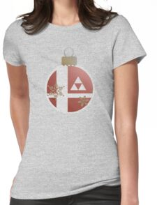 Super Smash Christmas - Legend of Zelda Womens Fitted T-Shirt