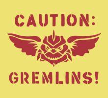 Caution: Gremlins! Kids Clothes