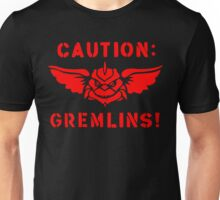 Caution: Gremlins! Unisex T-Shirt