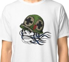Army Skull Design - Day of the Dead Classic T-Shirt