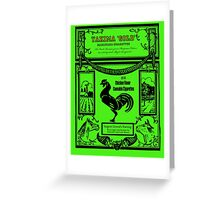 YAKIMA GOLD Cannabis Cigarettes...chicken flavored! Greeting Card