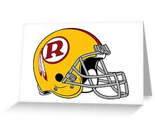 the redskins Greeting Card
