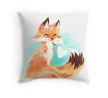 I love you, Kitsune! Throw Pillow