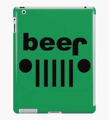 beer jeep parody iPad Case/Skin