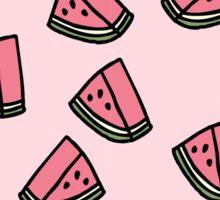 Kawaii Watermelon Pattern Sticker