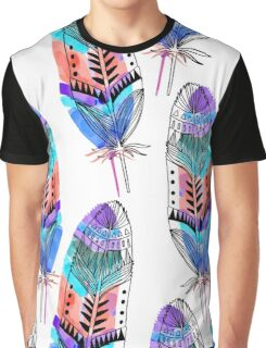 Feathers Graphic T-Shirt