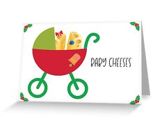 Baby Cheeses Greeting Card