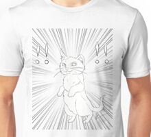 Hello! I am comic cat! Unisex T-Shirt