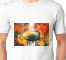 floating pottery with a waterfall Unisex T-Shirt