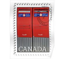 ·٠•● █░║►    CANADIAN MAIL BOX/STAMP   ◄║░█ ●•٠· Poster